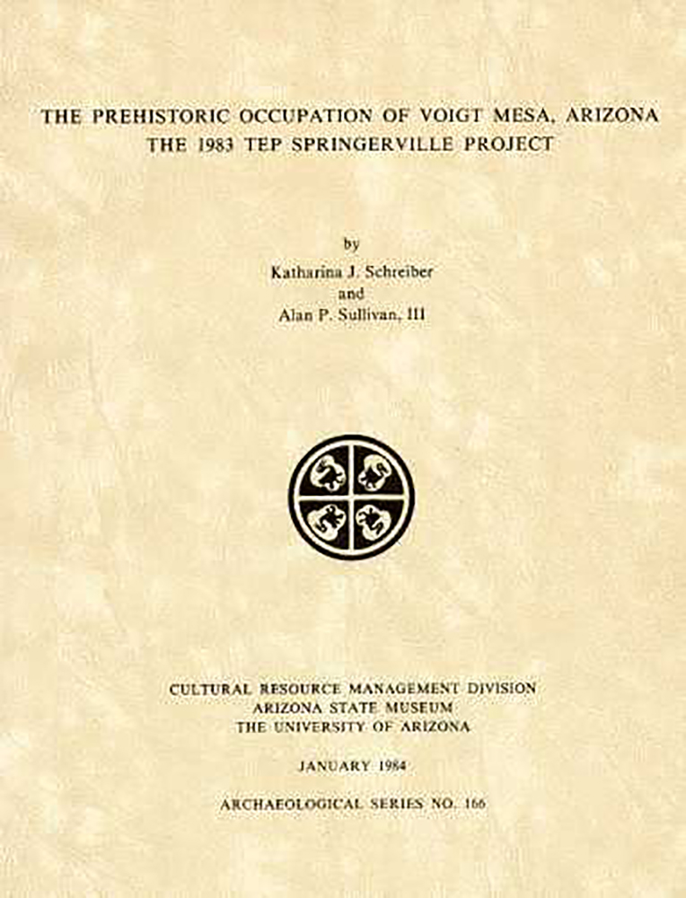 The Prehistoric Occupation of Voight Mesa, Arizona