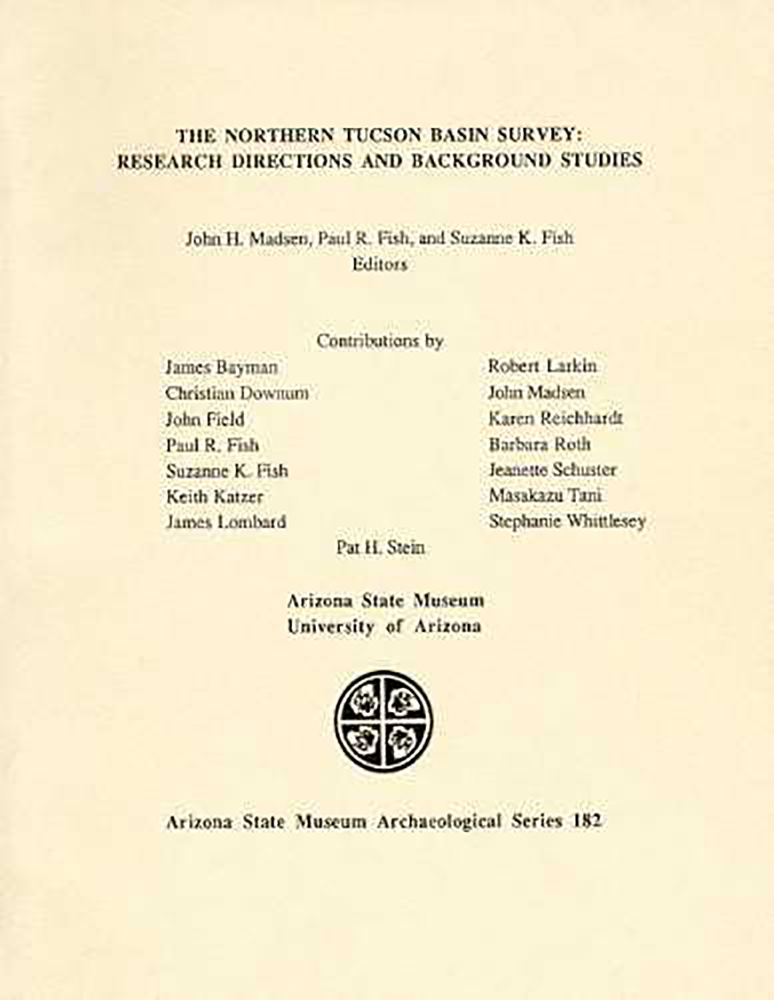 The Northern Tucson Basin Survey