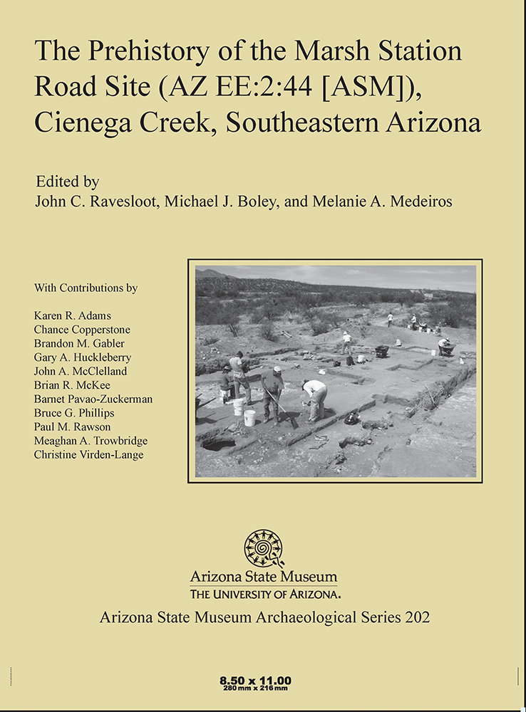 The Prehistory of the Marsh Station Road Site (AZ EE:2:44 [ASM]), Cienega Creek, Southeastern Arizona