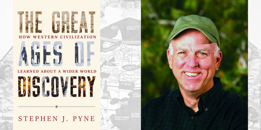 Book Trailer: Steve Pyne's 'The Great Ages of Discovery' (featured image)